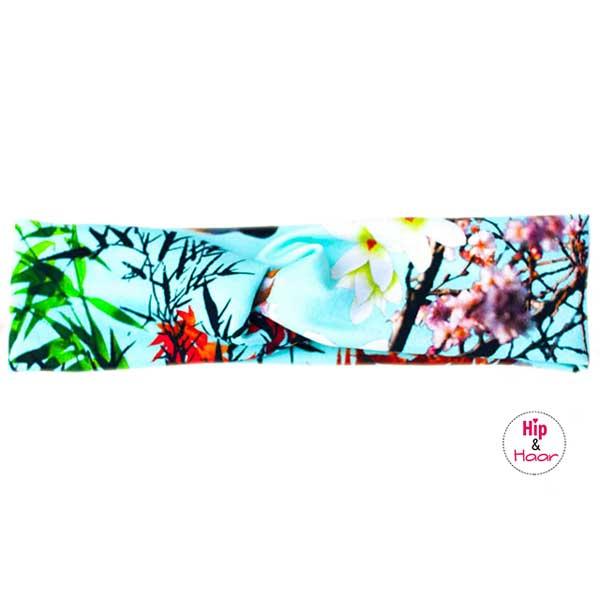 Japanse-bloemen-haarband-mint