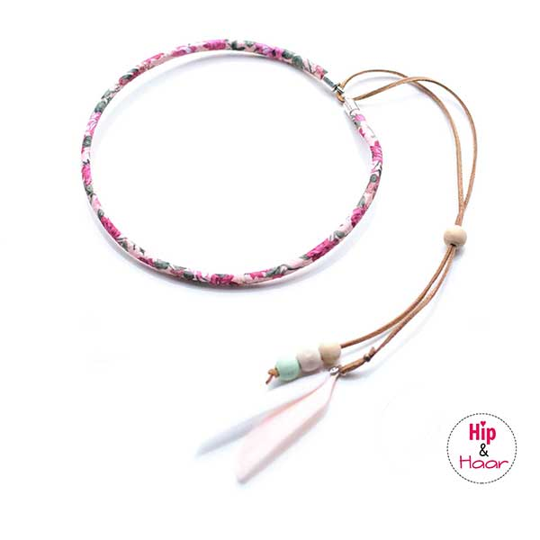 hoofdbandje voor meisjes roze