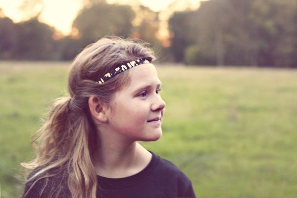 Vachtleer haarbandjes - haarbandjes voor meisjes