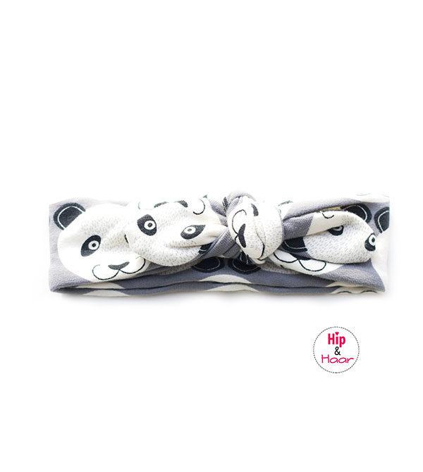Baby-knoophaarbandje-grijs-met-pandabeertjes