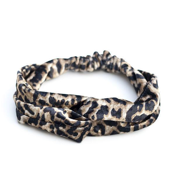 Bandeau haarband tijgerprint