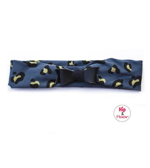 Haarband-blauw-met-cheetah-vlekken