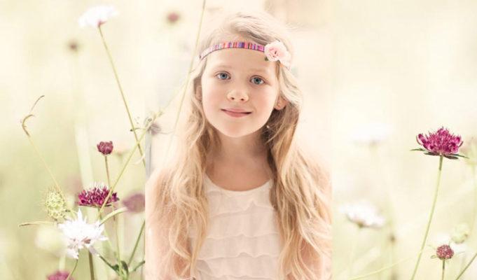 Haarbandjes voor meisjes- hoofdbandje met bloemen