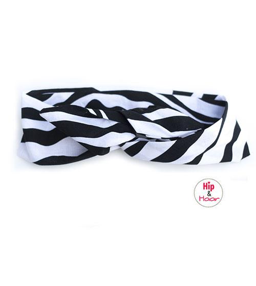 Haarband-ijzerdraad-zebra