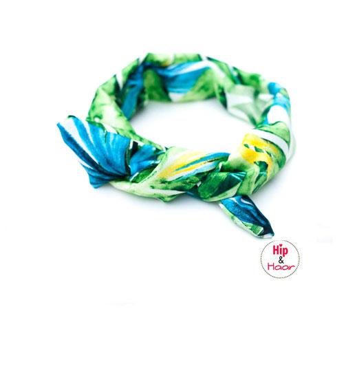 haarband-met-ijzerdraad-fleurig-groen