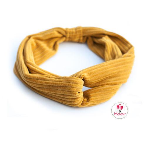 Haarband-ribstof-oker