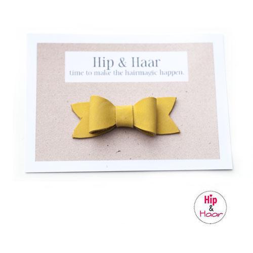 Haarstrik-leer-oker-geel