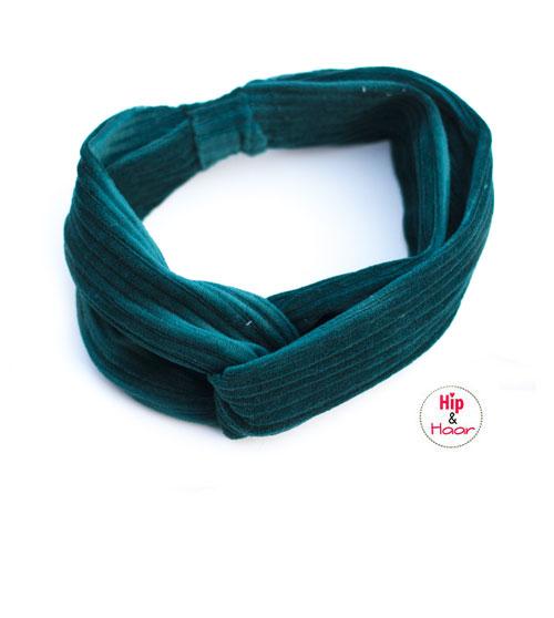 ribstof-haarband-vintage-groen