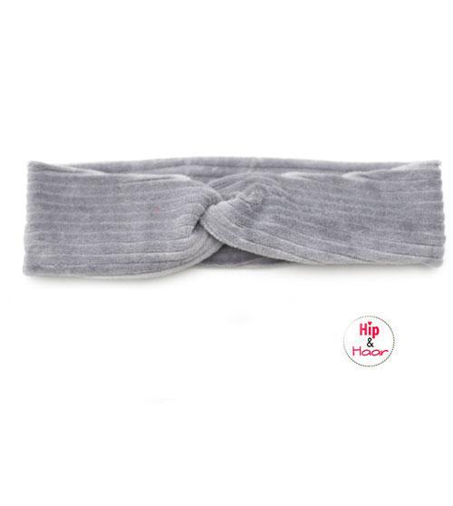 Ribstof-haarband-grijs