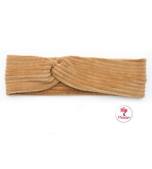 ribstof-haarband-camel