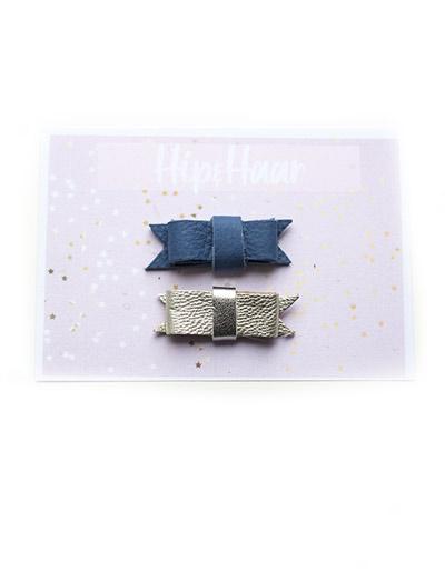 Baby-haarknipjes-leer-blauw-en-zilver