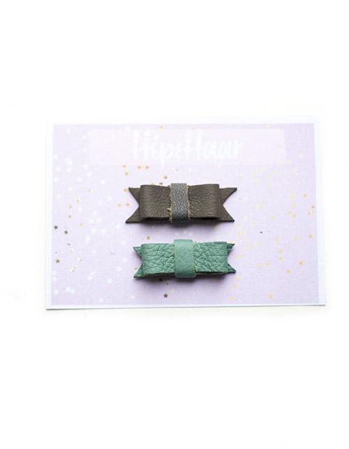 Baby-haarknipjes-leer-mint-en-grijs