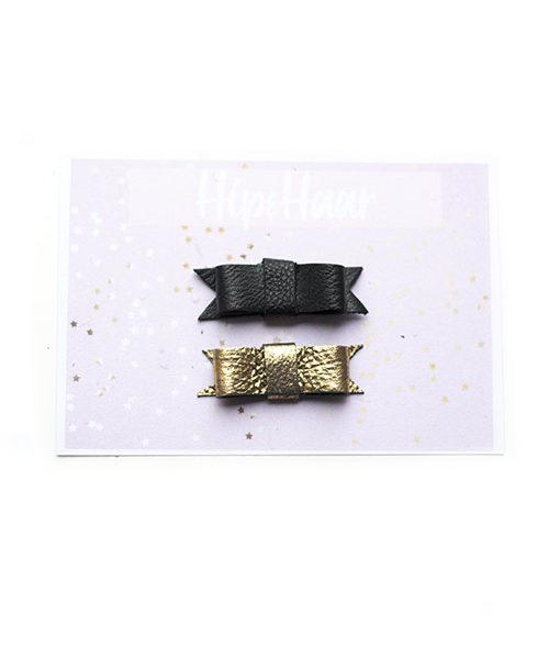 peuter-haarklipjes-leer-goud-en-zwart