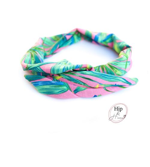 Bandeau-haarband-pink-tropics