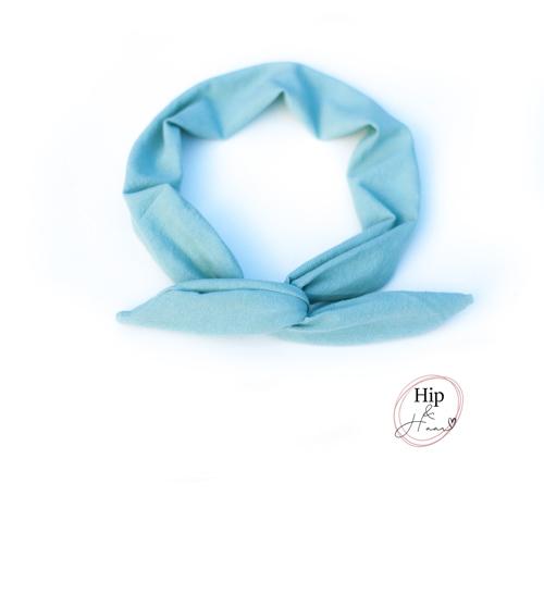 Bandeau-haarband-blauw-linnen-aqua