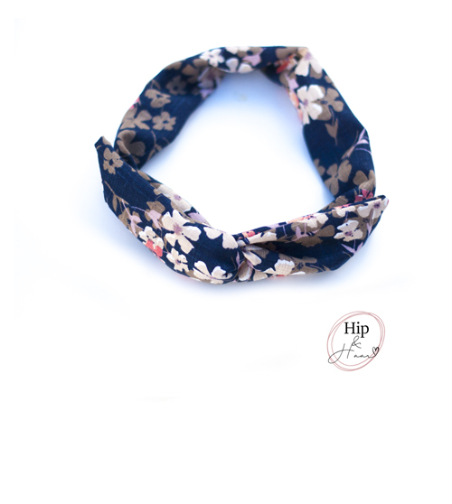 Bandeau-haarband-blauw-linnen-bloemen