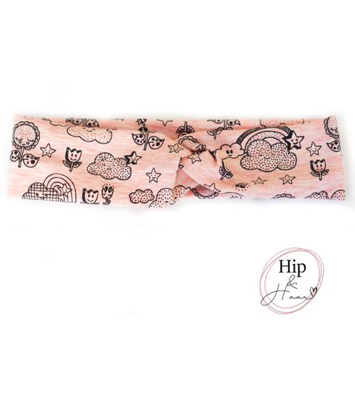 Kinder-haarband-zacht-roze-vrolijk