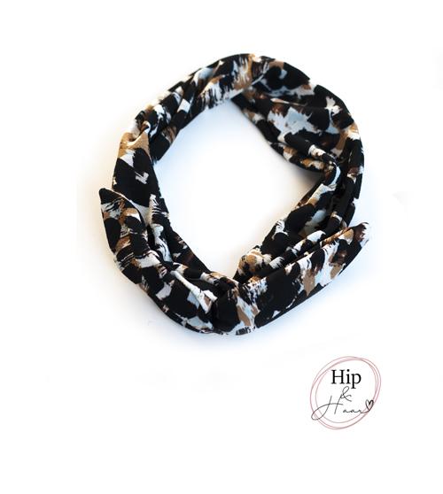 ijzerdraad-haarband-zwart-en-beige-print