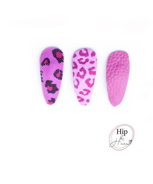 Baby-haarspeldjes-dierenprint-roze