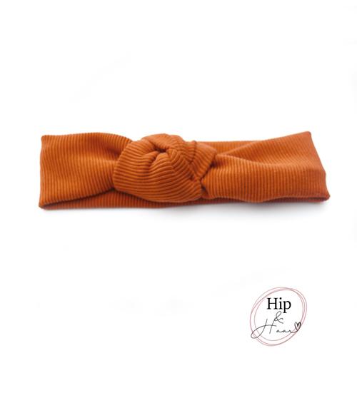 Knoop-haarband-rib-roest