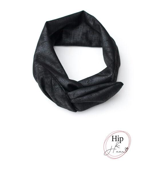 ijzerdraad-haarband-leather-look-black