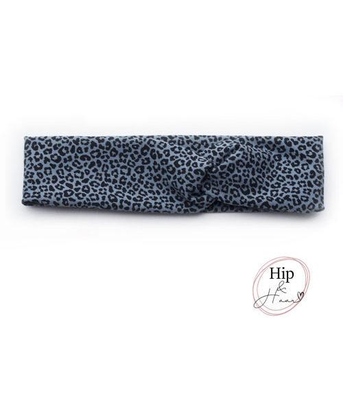 Kinder-haarband-grijs-blauw-dierenprint
