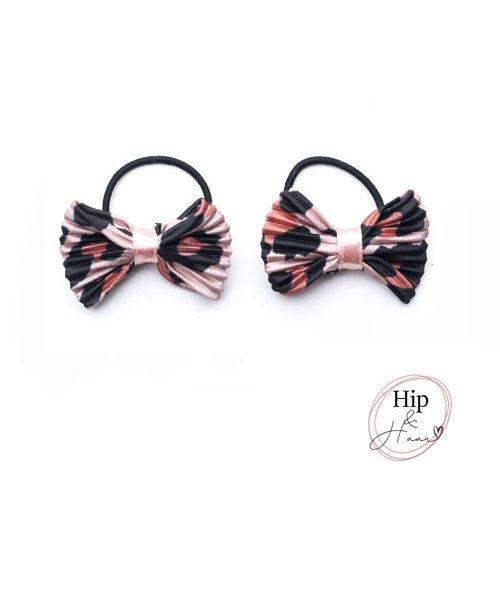 peuter-elastiekjes-rose-dierenprint-shiny