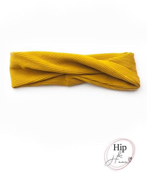 Twist-haarband-rib-oker