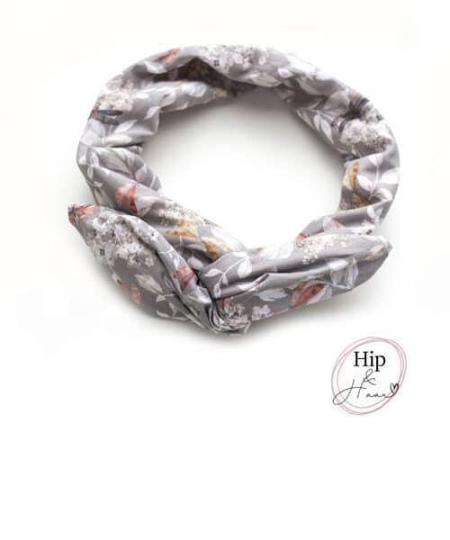 Ijzerdraad-haarband-dames-linnen-grijs-bloemen