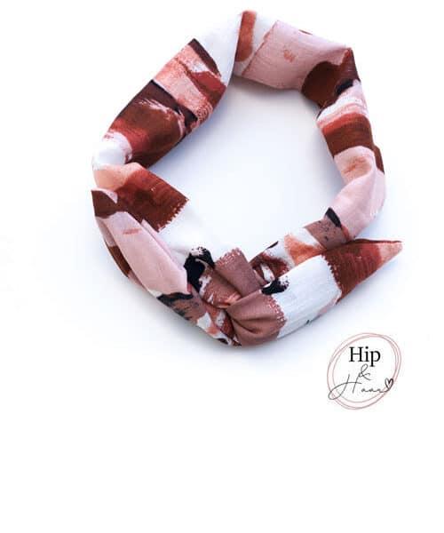 Flexibele haarband met ijzerdraad