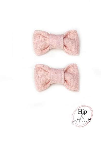 Peuter-haarklipjes-Roze