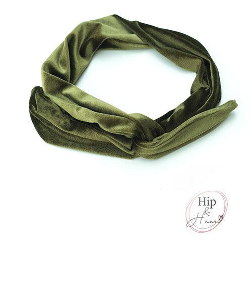 Haarband-met-draad-groen