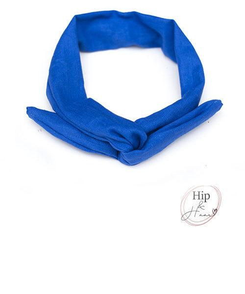Haarband-ijzerdraad-linnen-kobalt-blauw