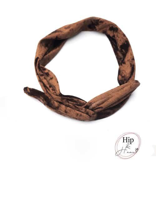 Haarbanden-met-ijzerdraad-Velours-bruin
